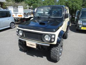 スズキ ジムニー ランドベンチャー 社外15AW 社外マフラー 4WD ステンレスバンパー ナビ TV ETC