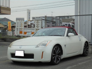 日産 フェアレディZ ロードスター ナビ・ETC・19インチAW