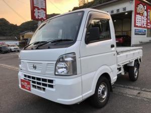 日産 NT100クリッパートラック DX 1年走行無制限保証 寒冷地仕様 エアコン付 パワーステ SRS AT 軽トラ