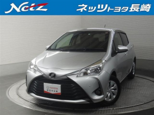トヨタ ヴィッツ F 衝突軽減ブレーキ CDオーディオ アイドリングストップ