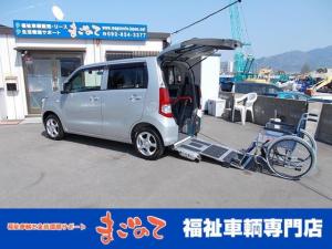 スズキ ワゴンR ウィズ 車いす移動車 リヤシート付 電動固定式 福祉車両