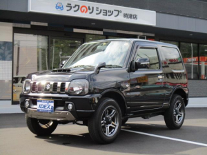スズキ ジムニー ランドベンチャー 4WD ターボ メモリーナビ 専用革シート