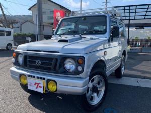 スズキ ジムニー ワイルドウインド 5速MT エアコン パワステ ETC 純正アルミ 4WD ルーフキャリア