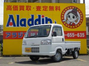 ホンダ アクティトラック アタック 届出済み未使用車 エアコン パワステ 4WD フロアマット ドアバイザー