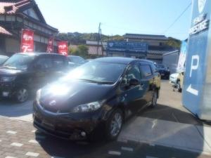 トヨタ ウィッシュ 1.8Sモノトーン サイバーナビ フルセグ DVD バックカメラ カロッツェリア社外スピーカー