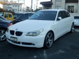 BMW 5シリーズ 525i 純正ナビ 黒革 ドラレコ