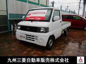 三菱 ミニキャブトラック VX-SE パワステ エアコン 4WD ワンオーナー 記録簿