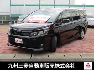 トヨタ ヴォクシー ハイブリッドV ワンオーナ メモリナビ 地デジ CD 横滑り防止装置 ABS ナビ・TV プリクラ 両側Pスライドドア