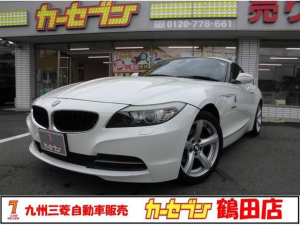 BMW Z4 sDrive20i ハイラインパッケージ 電子セレクトレバー・8速AT・TV・HDDナビ・バックモニター・DVD再生・ETC アルミ バイキセノン ワンオーナー 禁煙車・前席シートヒーター・本革レザー・パドルシフト・オートエアコン