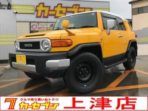 トヨタ FJクルーザー カラーパッケージ ETC ナビ フルセグTV バックカメラ