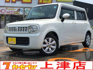 スズキ アルトラパン X/ナビ/TV/純正AW/シートカバー/買取車