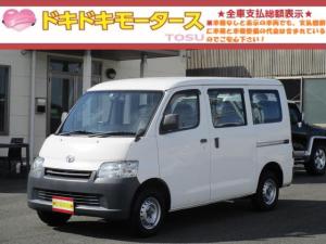 トヨタ ライトエースバン DX 両側スライドドア SDナビ ワンセグTV CD ETC Bluetooth