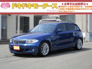 BMW 1シリーズ 118i Mスポーツパッケージ サンルーフ MTモード HID HDDナビ CD バックカメラ ETC AM・FMラジオ 17インチアルミ 電格ミラー AUTOエアコン AUTOライト