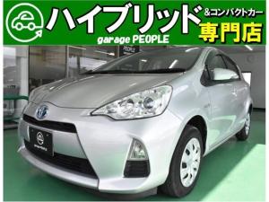 トヨタ アクア L 付帯条件付 ETC CD エアバッグ