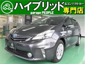 トヨタ プリウスアルファ S スマートキー ABS パワステ パワーウインドウ