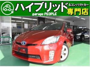 トヨタ プリウス Gツーリングセレクション ETC/HDDナビ/フルセグ/バックカメラ/LEDヘッドライト/17インチアルミホイール
