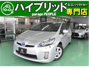 トヨタ プリウス S LEDエディション 純正ナビ/ワンセグ/コーナーポール/ETC/保証付き