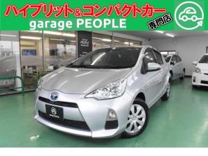 トヨタ アクア S ETC/ワンセグ/カロッツェリアナビ/PS/PW/ABS/AIRBAG