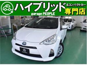 トヨタ アクア S ETC/社外ナビ/バックカメラ/PS/PW/ABS/AIRBAG