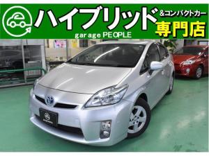 トヨタ プリウス G クルーズコントロール/純正ナビ/フルセグ/Bカメラ/ETC/保証付き