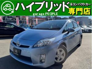 トヨタ プリウス S LEDエディション 純正HDDナビ/Bluetooth/ワンセグ/Bカメラ/ETC/保証付き