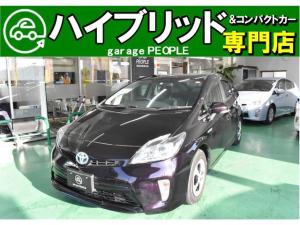 トヨタ プリウス S 純正ナビ/ワンセグ/バックカメラ/Bluetooth/ETC/保証付き