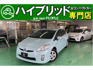 トヨタ プリウス S 純正SDナビ/ワンセグ/Bカメラ/ETC/保証付き