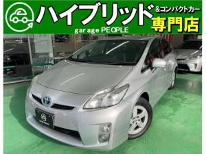 トヨタ プリウス S 純正オーディオ/PS/PW/ABS/オートエアコン/ETC/保証付き/付帯条件付き