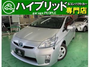 トヨタ プリウス L 純正ナビ/ワンセグ/コーナーポール/Bカメラ/ETC/保証付き