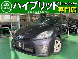 トヨタ プリウス S LEDエディション LEDヘッドランプ/フォグランプ/ナビ/ワンセグ/バックカメラ/ETC/保証付き