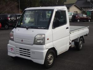三菱 ミニキャブトラック 切り替え式4WD 5速マニュアル パワステ 三方開