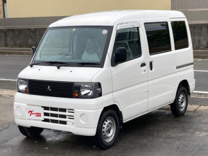 三菱 ミニキャブバン CD 保証付き 5速ミッション パワステ エアコン 運転手席エアバッグ 助手席エアバッグ