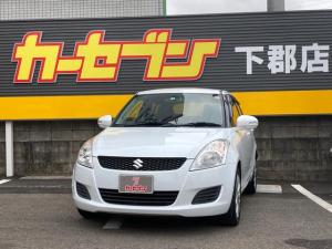 スズキ スイフト XL タイヤ4本新品 クラリオンCDオーディオ プッシュスタート ヘッドライトレベライザー 純正16AW 革巻ハンドル ステアリングスイッチ