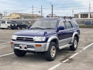 トヨタ ハイラックスサーフ SSR-X ワイド 4WDターボ ディーゼル車 サンルーフ HDDナビ DVD再生 バックカメラ 背面タイヤ 純正16インチアルミ