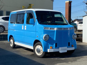 ホンダ バモス L フレンチバス仕様 キーレス 社外テールランプ・ウィンカー バイザー