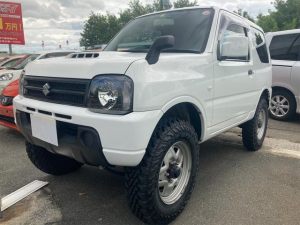 スズキ ジムニー XG 4WD ワンオーナー ETC キーレスエントリー 記録簿 MT リフトアップ 衝突安全ボディ ABS エアコン