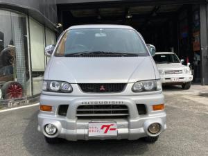 三菱 デリカスペースギア シャモニー 4WD HDDナビ オートステップ スライドドア 純正15AW キーレス