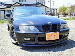 BMW Z3ロードスター ベースグレード 革シート 車高調 社外マフラー 社外18インチアルミ イカリングヘッドライト