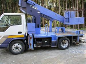いすゞ エルフトラック  スムーサー変速機 高所作業車AT121-1 12m