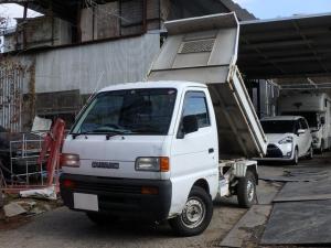 スズキ キャリイトラック  ダンプ 4WD 5速マニュアル エアコン