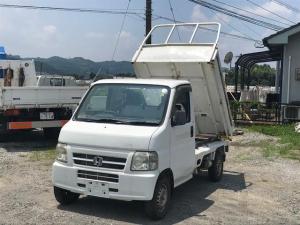 ホンダ アクティトラック SDX 4WD ダンプ エアコン パワステ 5速マニュアル車