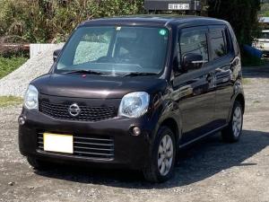 日産 モコ G ABS ベンチシート スマートキー オートエアコン CD バックカメラ 純正アルミホイール