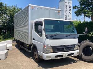 三菱ふそう キャンター  トラック 2.0t ディーゼル ワイドロング アルミ箱サイドドア付き パワーゲート  AC 6MT バックカメラ ETC