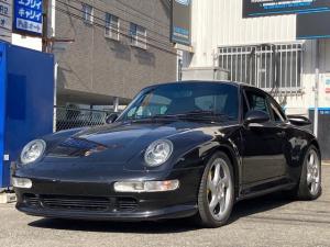 ポルシェ 911 911カレラ4S 4WD 左ハンドル ターボエンジン載せ換え クラッチオーバーホール 6速MT ETC サンルーフ ローダウン レカロシート