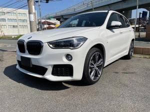 BMW X1 xDrive 25i Mスポーツ 禁煙 レザーシート インテリジェントセーフティオートクルーズコントロール レーンアシスト LEDヘッドランプ パワーバックドア パワーシート HDDナビ バックカメラ クリアランスソナー スマートキー