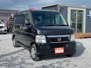 ホンダ バモス M・CD・パワステ・新品シートカバー・リアワイパー・キーレス ・エアロフォルムバンパー・4WD・エアロワイパー