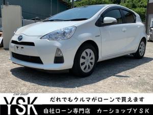 トヨタ アクア S 1年保証 Bluetooth対応 フルセグ CD録音