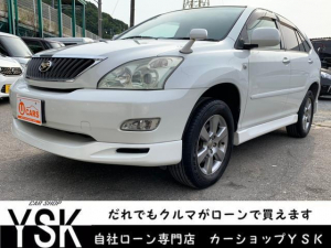 トヨタ ハリアー 240G Lパッケージ 1年保証 HDD 地デジ Bカメラ