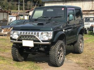 スズキ ジムニー ワイルドウインド 4WD リフトUP AT 車検令和3年7月