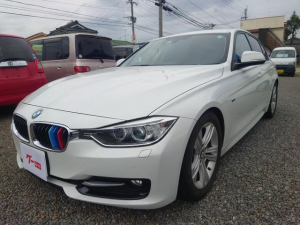 BMW 3シリーズ 320dブルーパフォーマンス スポーツ 車高調新品組み換え 19インチアルミタイヤ ナビ Bカメラ 地デジTV ETC バトルシフト